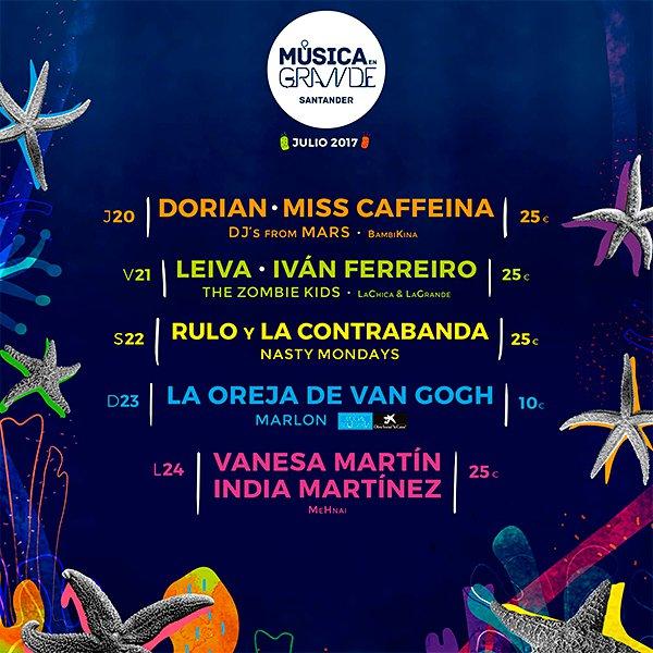 Música en grande 2017 – Santander